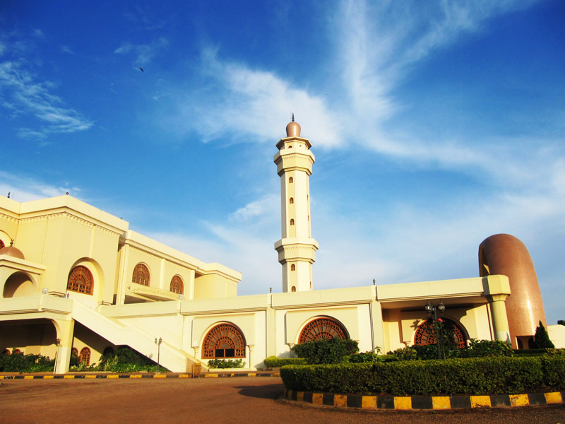 Gaddafi mosque in Old Kampala