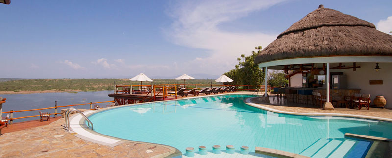 mweya swimming pool