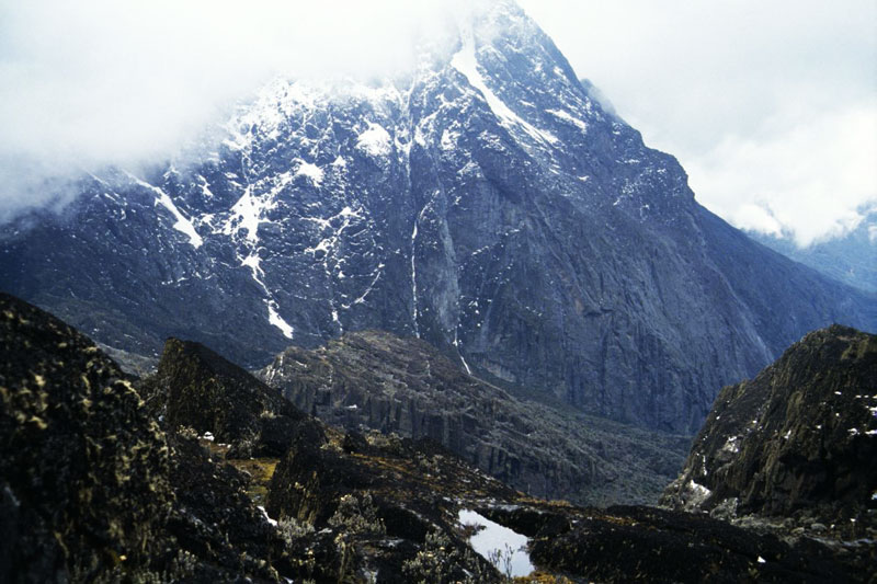 Stanley peak on Mountain Rwenzori